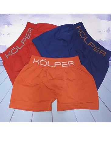 Boxer niño liso T4/16 KOLPER