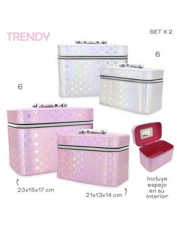 Organizador Beauty Set x 2 TRENDY