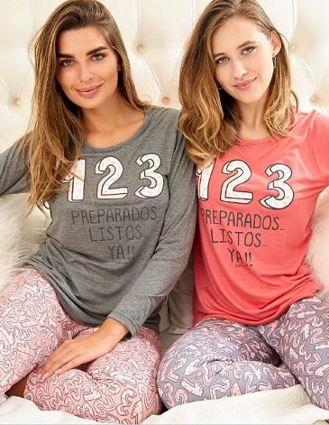 Pijama dama T1/4 SUSURRO