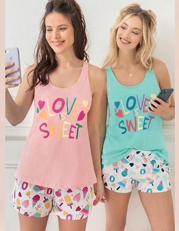 Pijama dama TS/XL LENCATEX