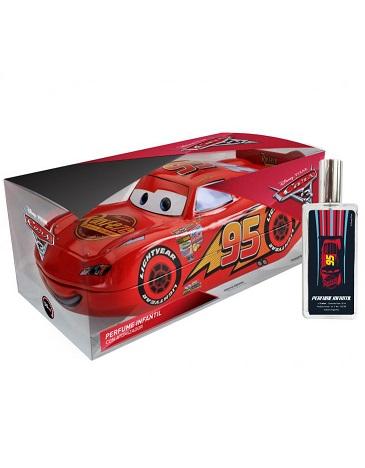Perfume con Atomizador en Lata Cartuchera Auto Cars x 50 ML DISNEY